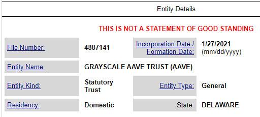 Grayscale регистрирует новые фонды