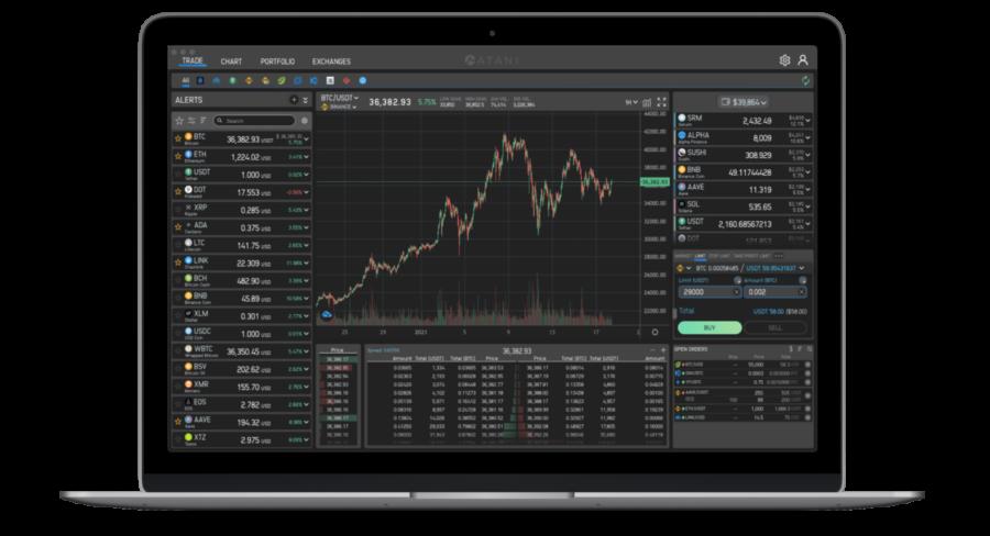 Atani crypto trading app review