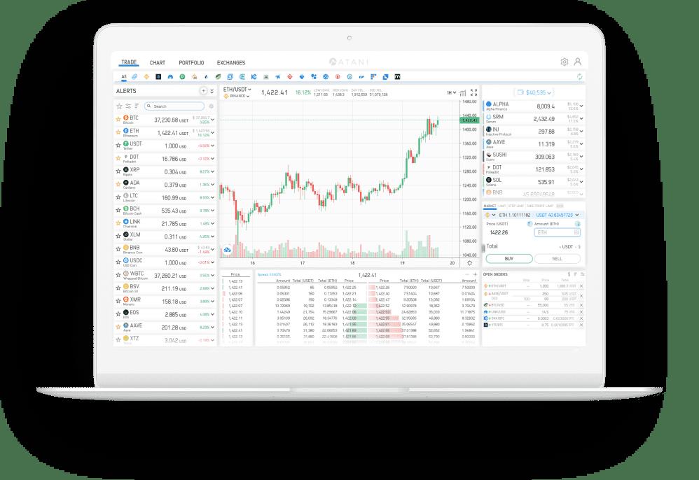 Atani crypto trading terminal review
