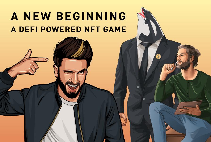 LegendsOfCrypto - DeFi powered NFT game