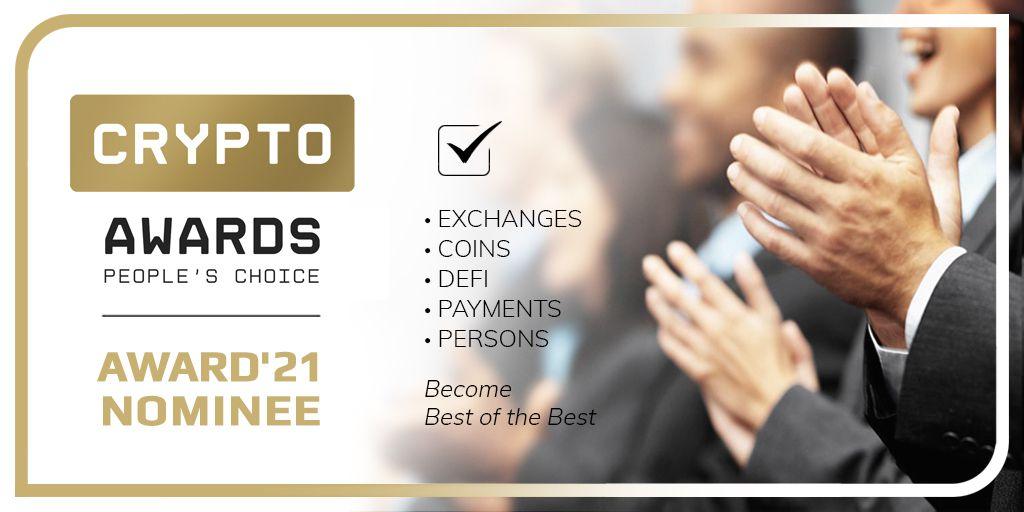 Crypto Awards: Επιλογή ανθρώπων.  Ο καλύτερος των καλυτέρων