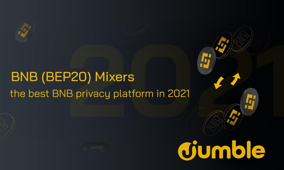 Jumble Cash: Best BNB Privacy Platform in 2021