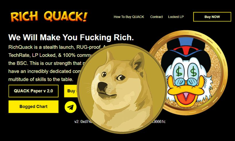 RichQuack — Rising Competitor for Dogecoin