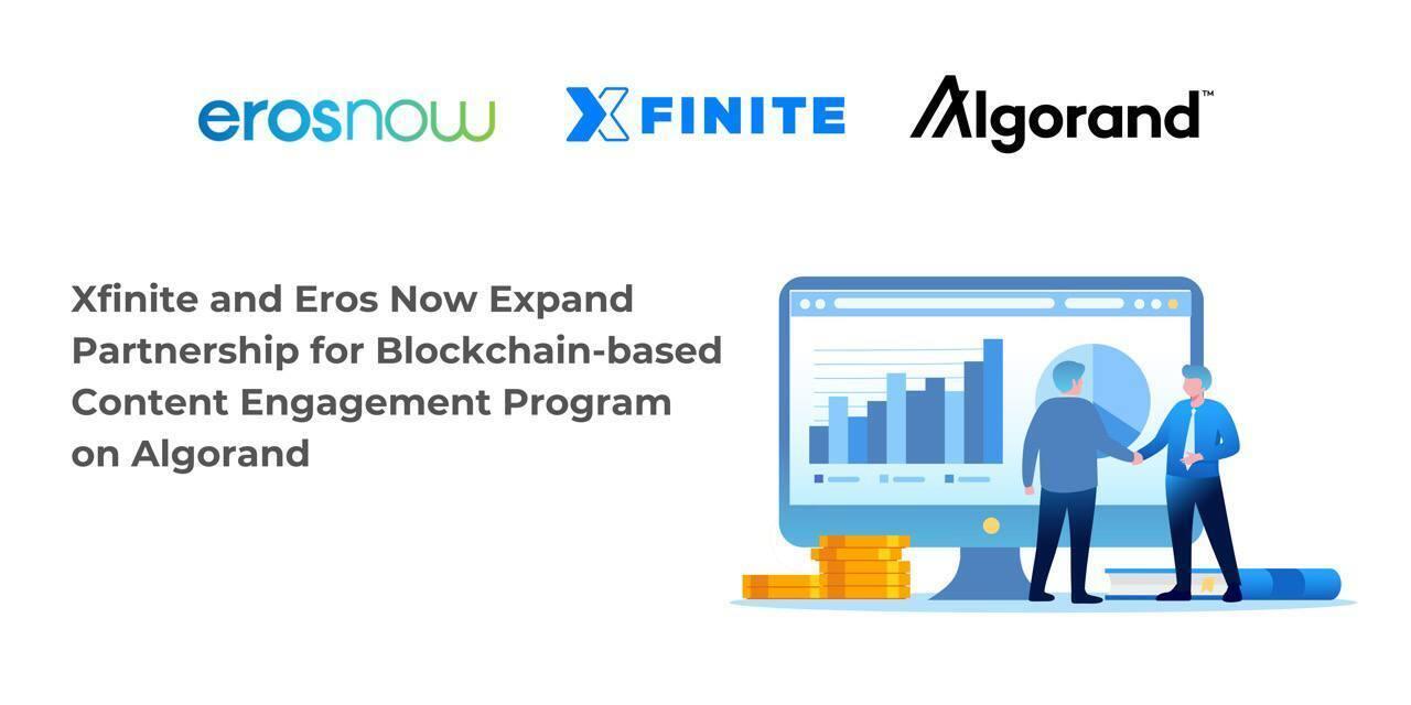 Xfinite, Eros Expand Partnership on Algorand