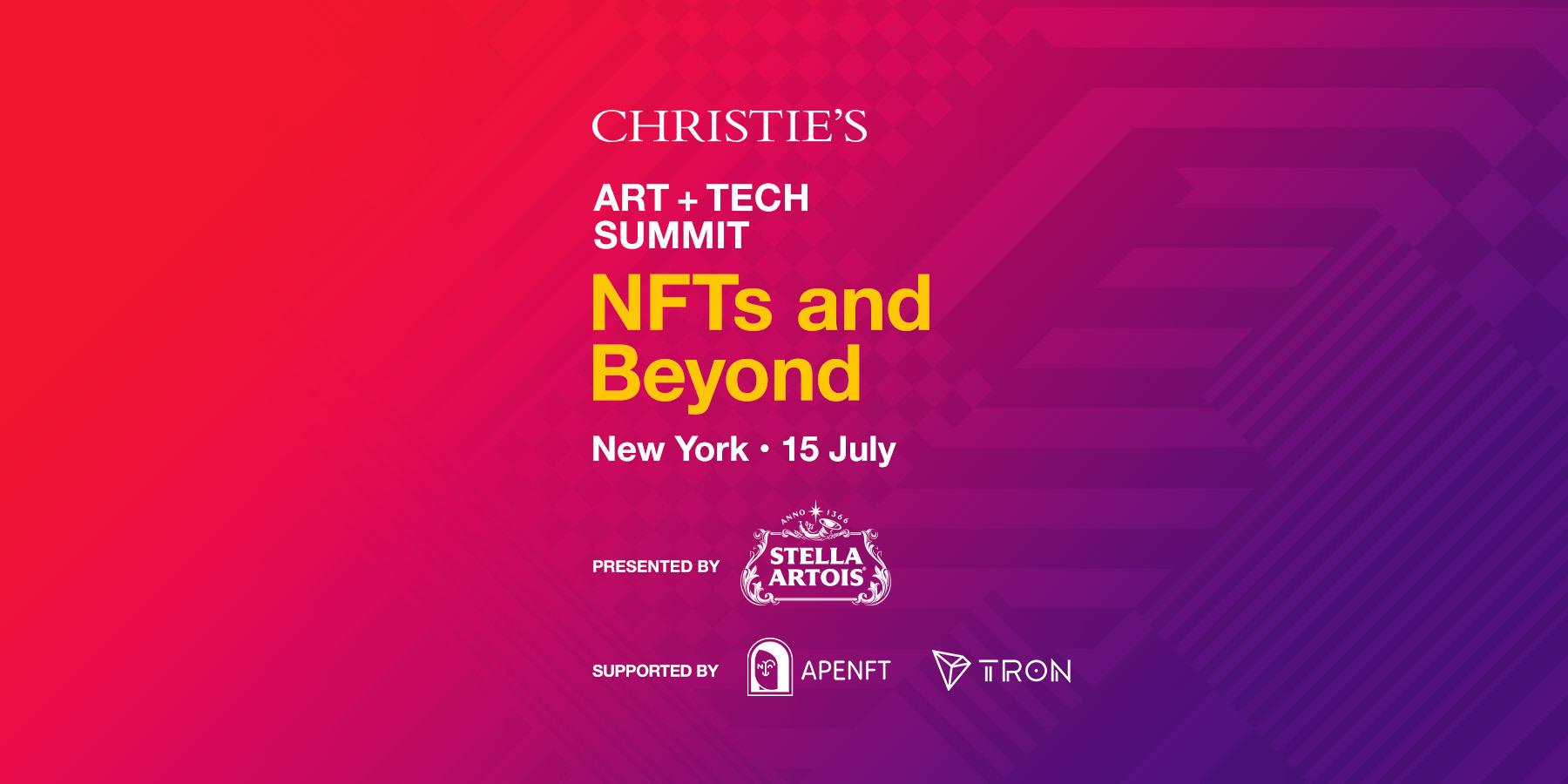 Christie's Art + Tech Summit: NFTs and Beyond - BeInCrypto