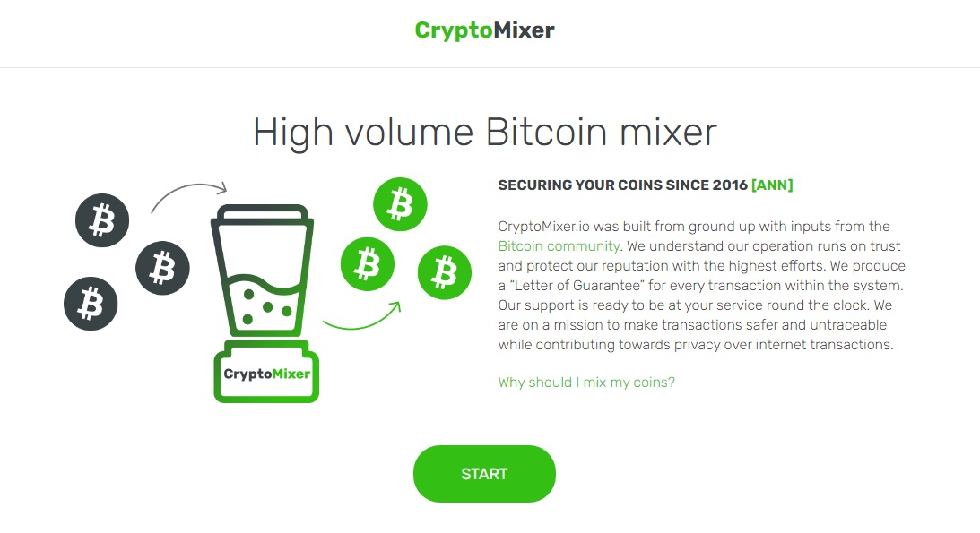 This is one of the best bitcoin mixers.