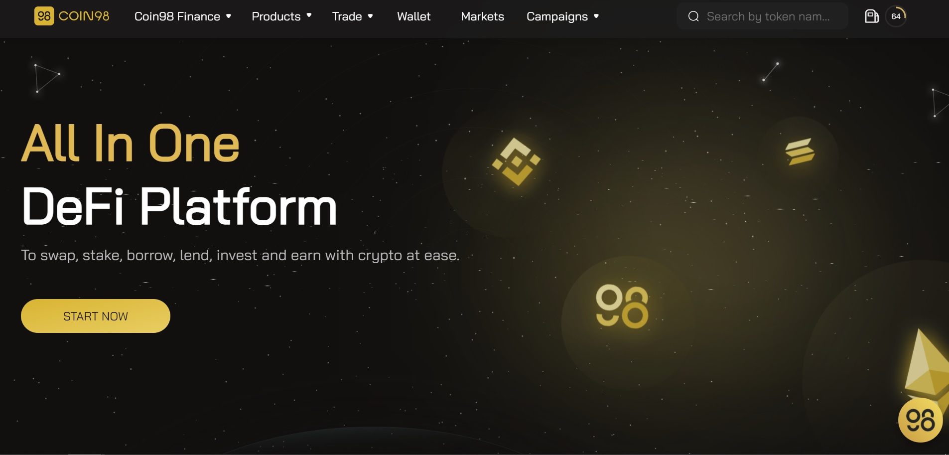 Homepage of the project