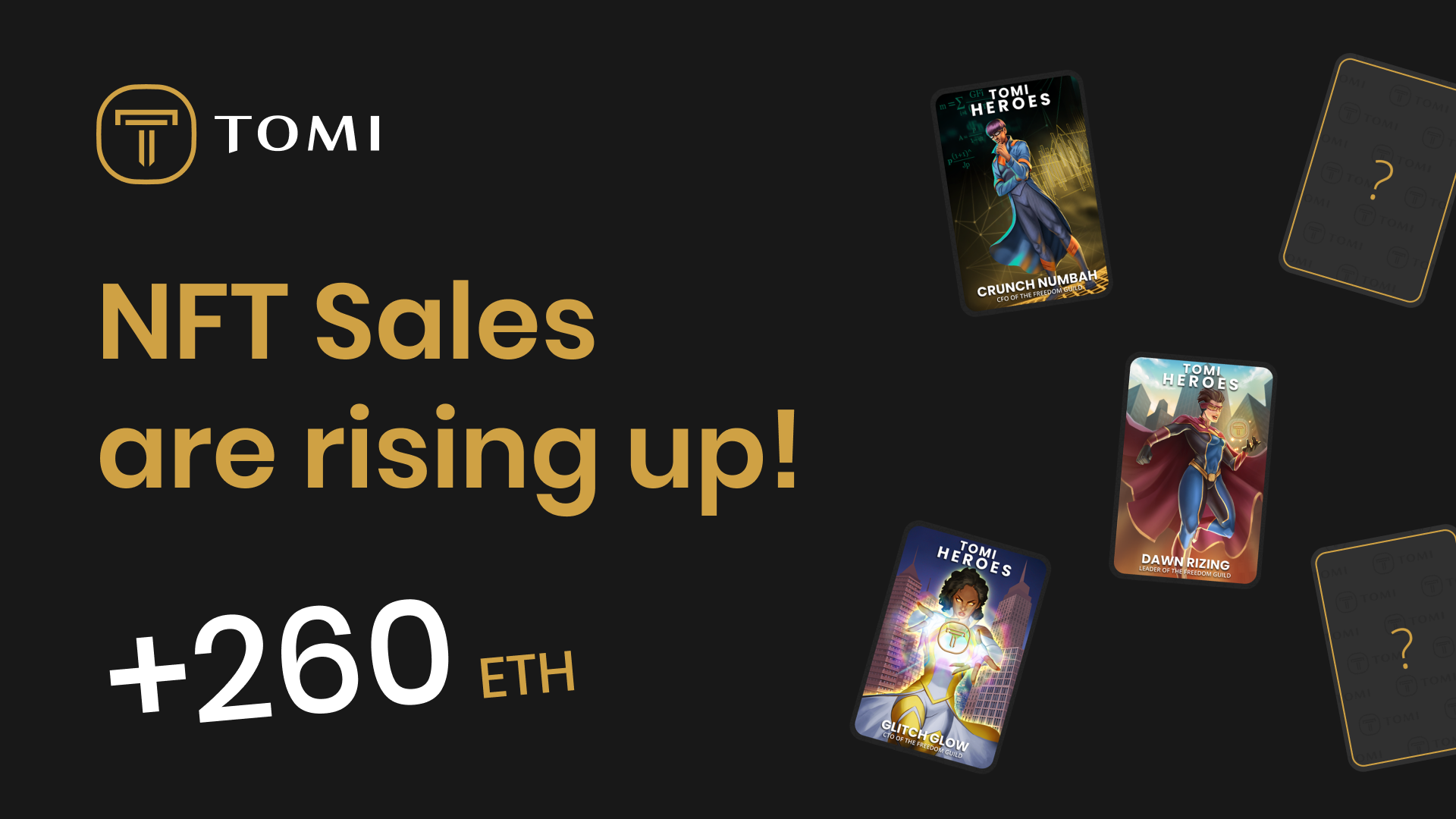 Grab a Spot in Tomi's Presale by Bagging an NFT!