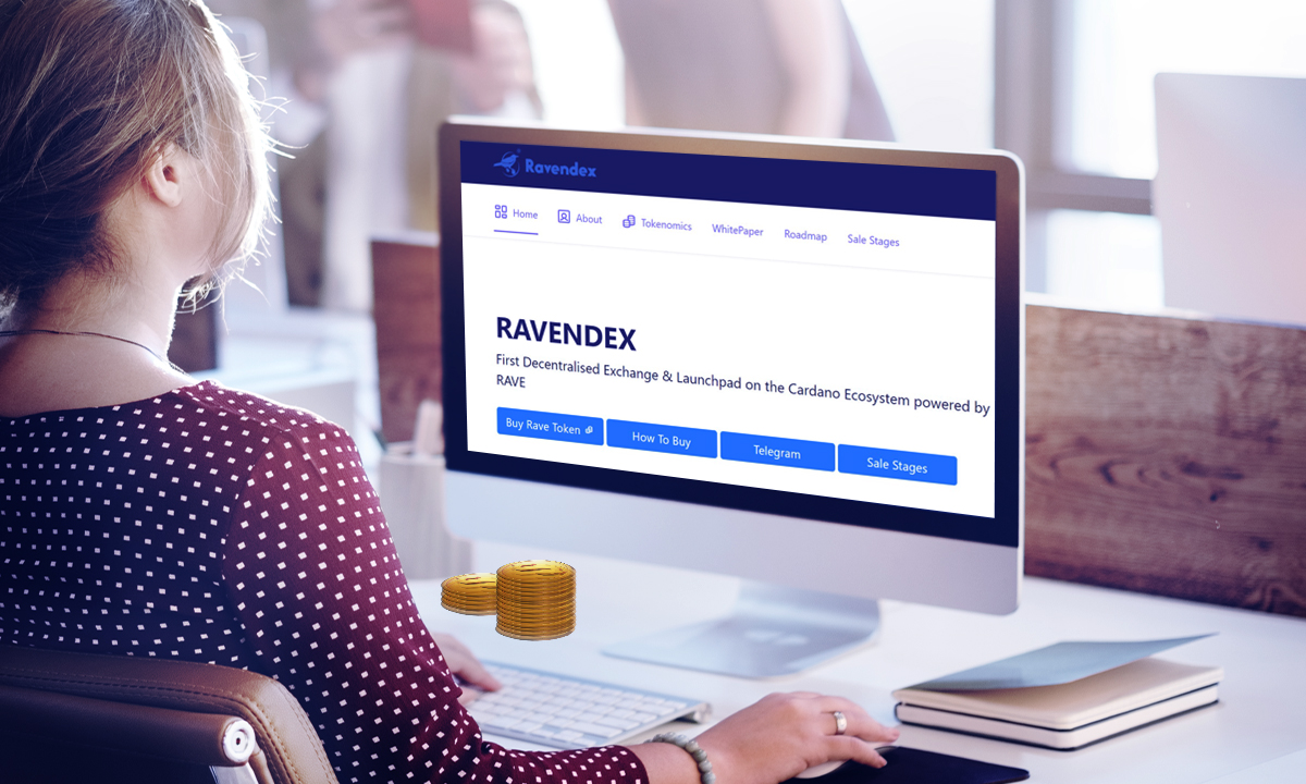 Cardano News Ravendex, on the Cardano Blockchain, Continues Selling Out thumbnail