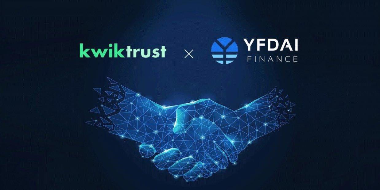 NFTs Get Interesting: KwikTrust IDO on YFDAI LaunchPad