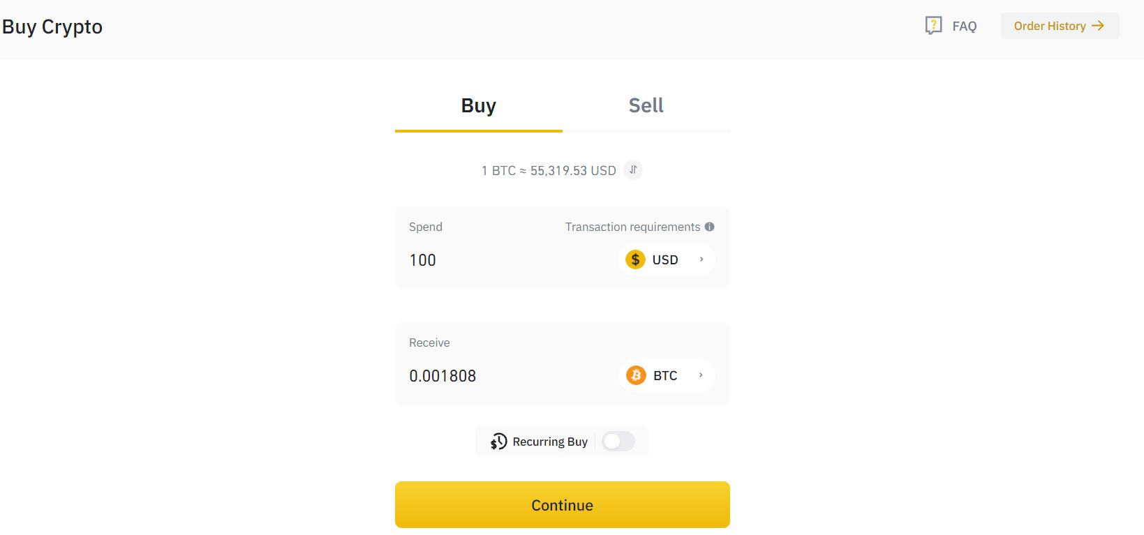 how to buy bitcoin without fees binance